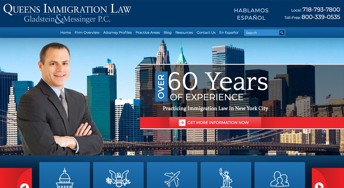 Queens Immigration Law Gladstein & Messinger P.C